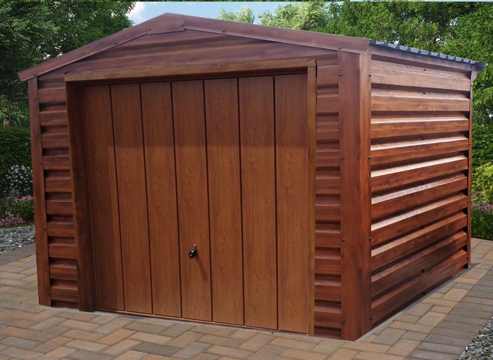 GArden Garage Oak