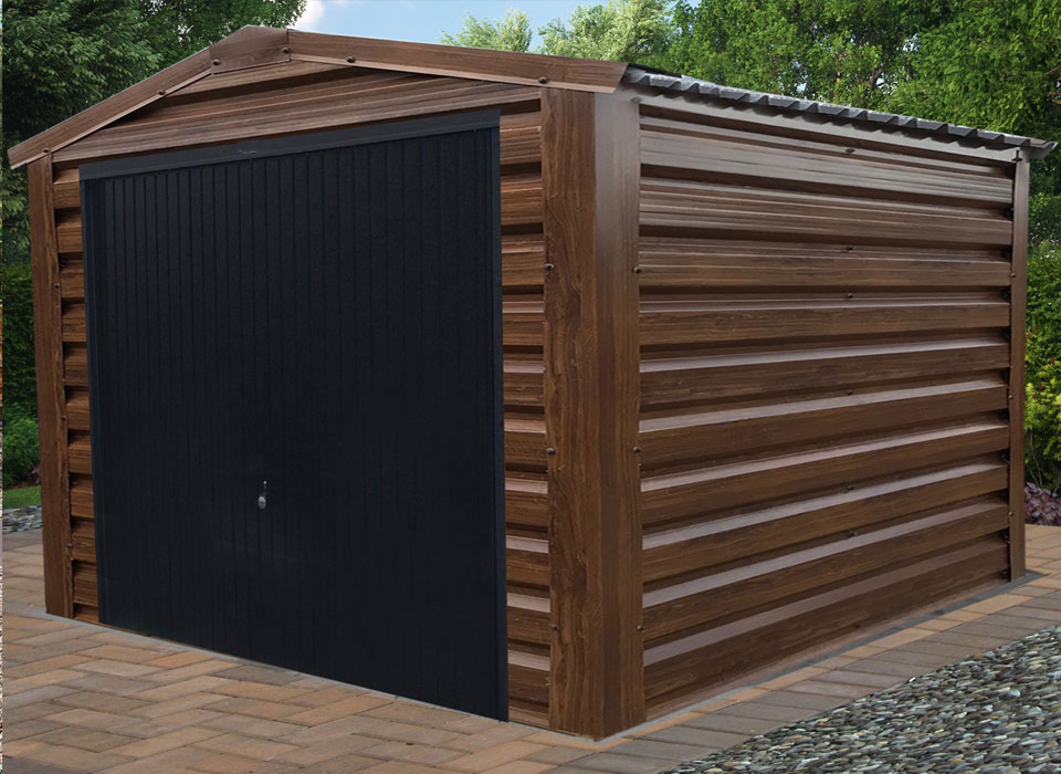 GArden Garage Walnut