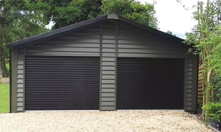 Insulated Garage