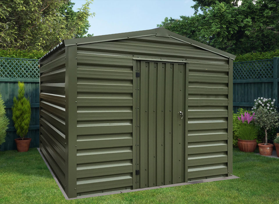 Steel Shed Green