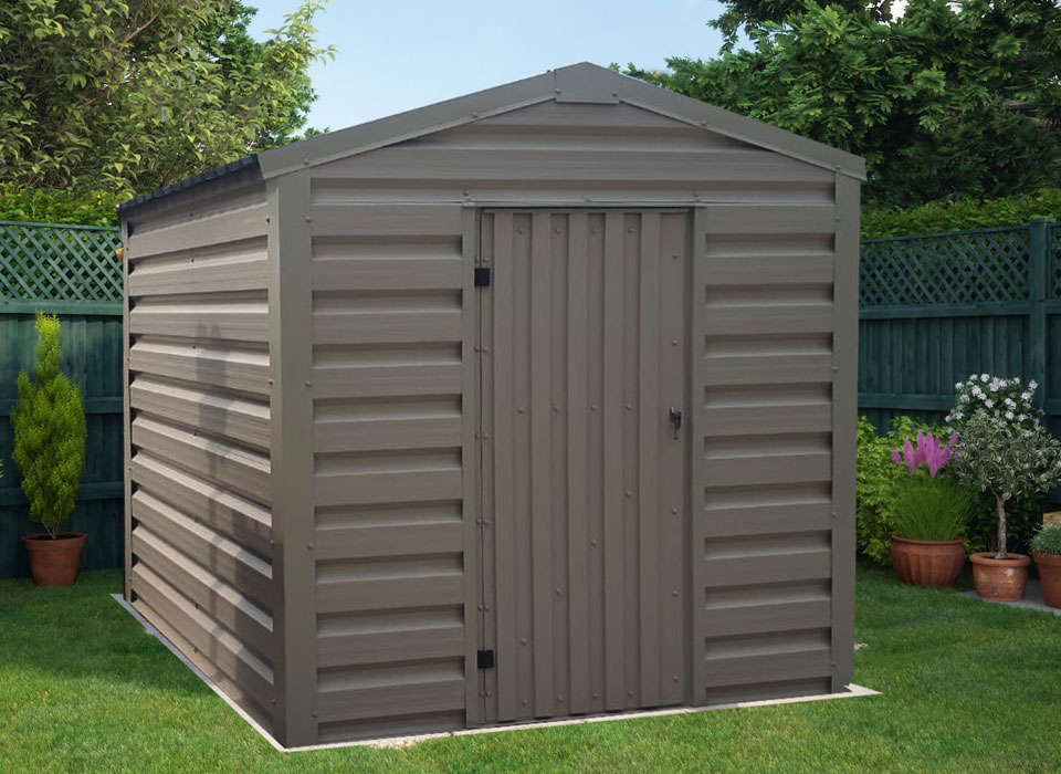 Steel Shed Grey