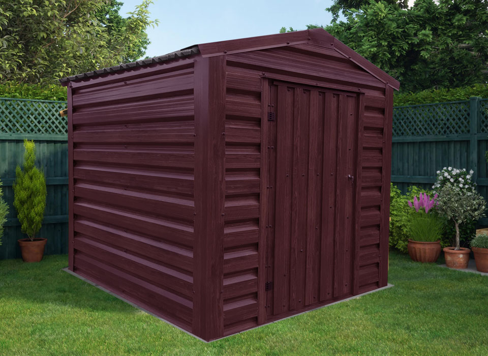 Steel Shed Rosewood