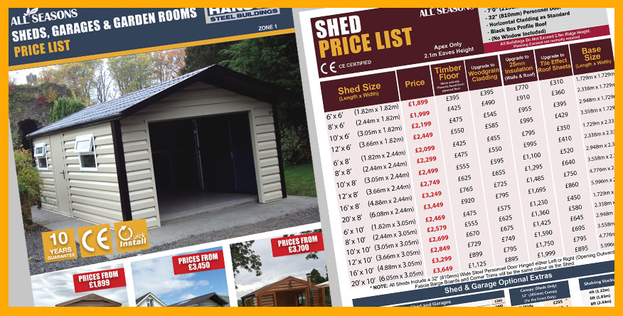 Steel Shed Brochure